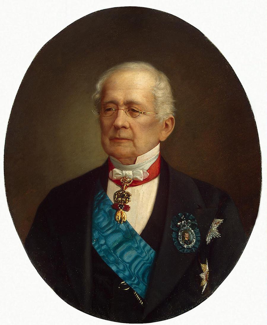 Портрет на Негово Височество княз Александър Михайлович Горчаков