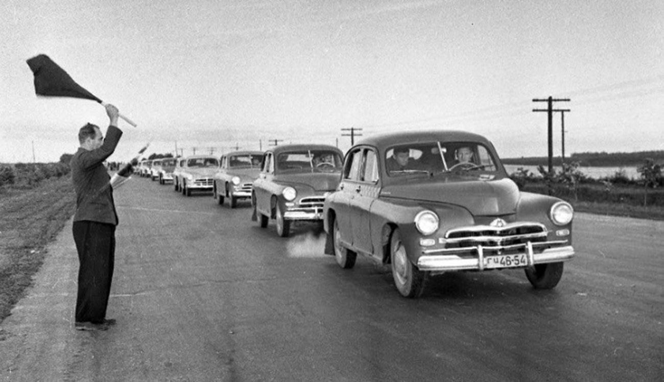 Kejuaraan balap mobil Uni Soviet, 1956.