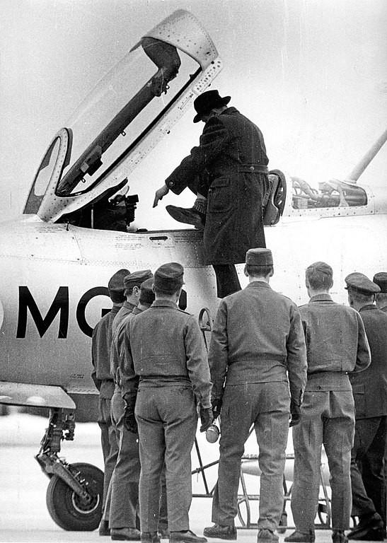 MiG-21 finlandés. 1963