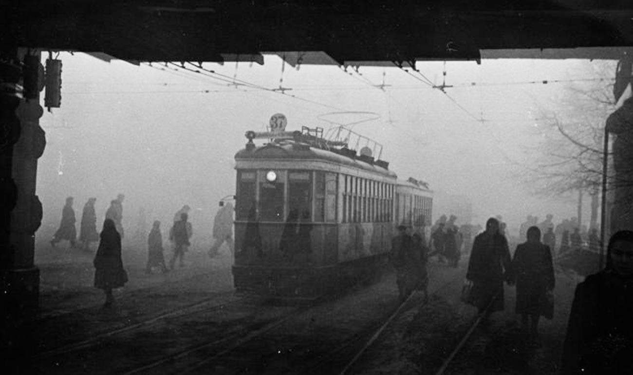 Площад Комсомолская, 1955 г.