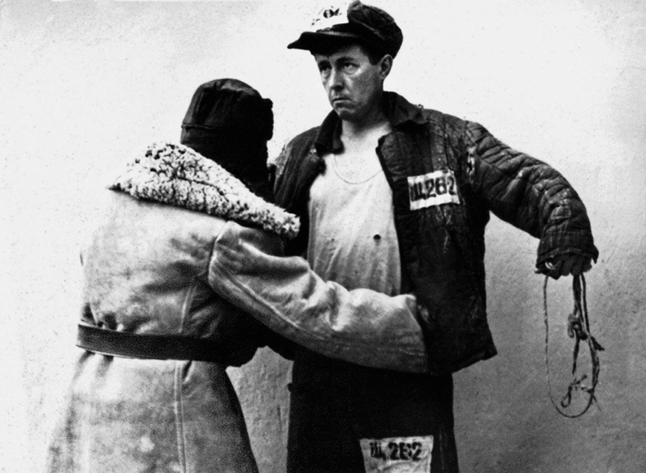 Alexander Solzhenitsyn in the Gulag