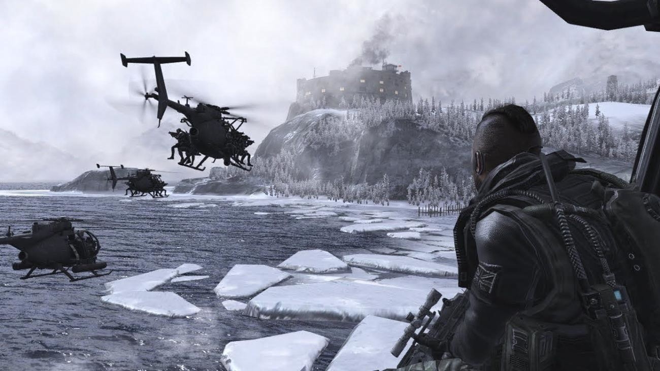 Gulag fort in the Call of Duty: Modern Warfare 2