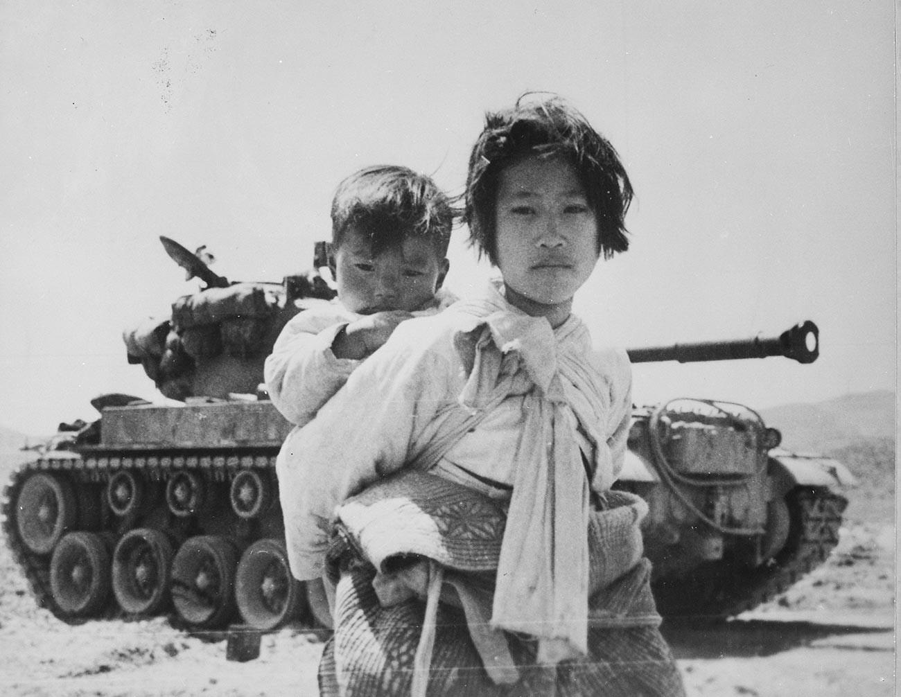 Guerra da Coreia.