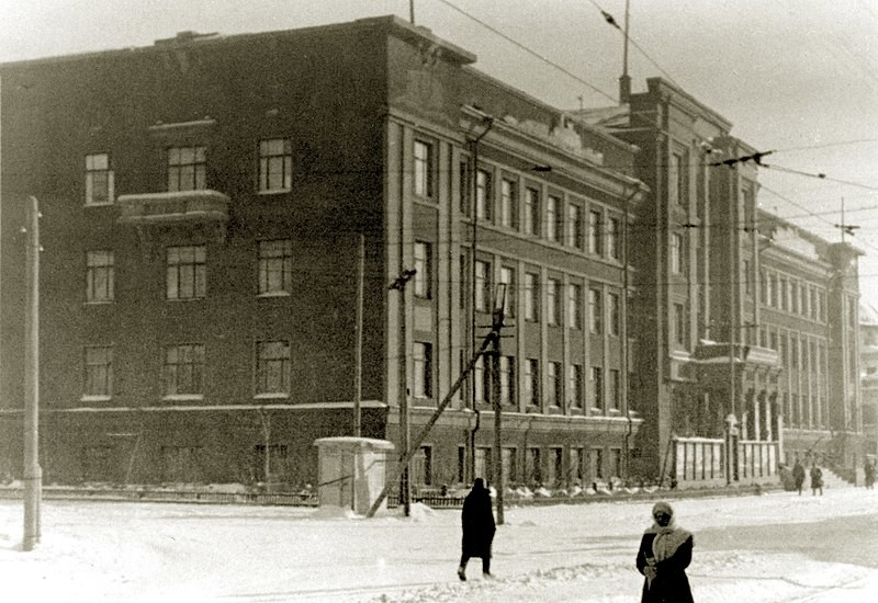Edificio de la Compañía Naviera del Río Omsk, que albergó la OKB Túpolev.