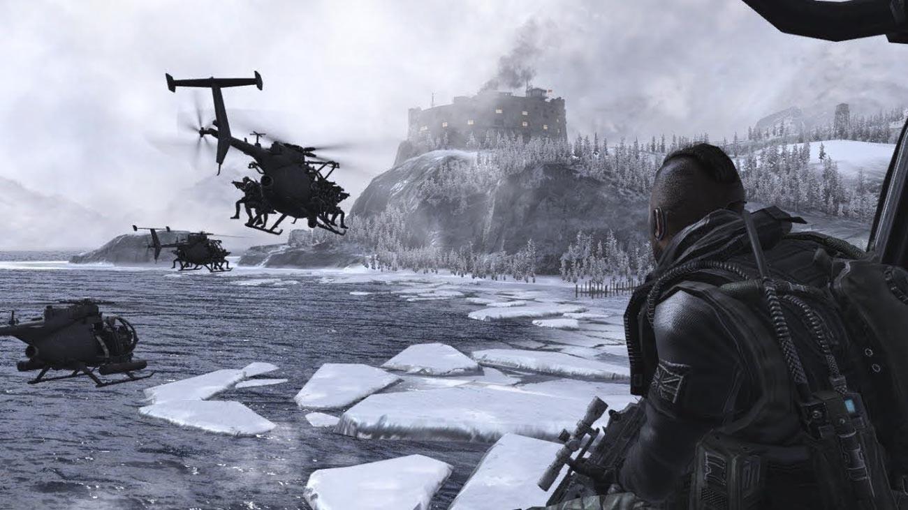 """La rappresentazione di un gulag nel videogioco """"Call of Duty Modern Warfare 2"""""""