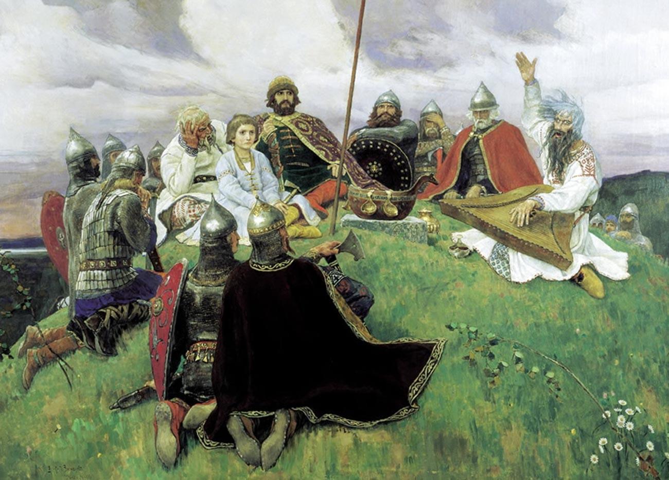 Autre tableau de Viktor Vasnetsov