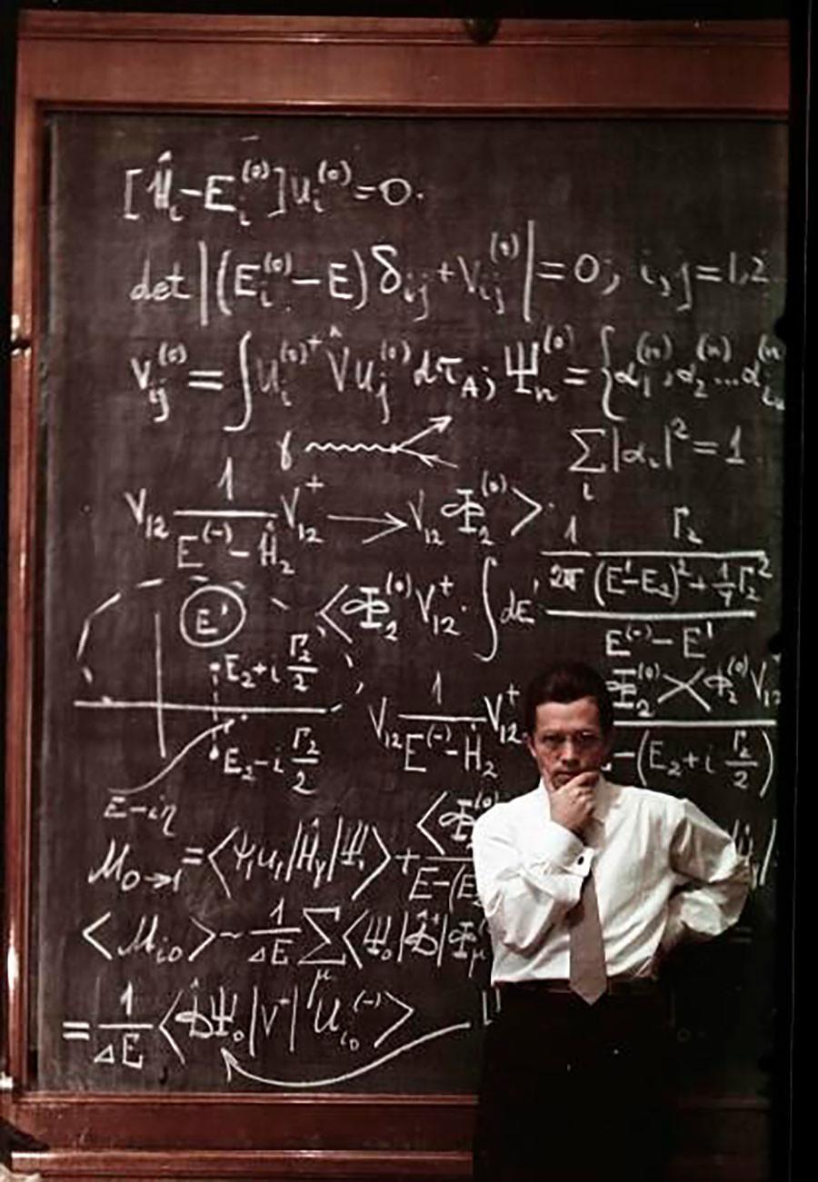 Le physicien Vsevolod Balachov, de la série «Affrontement»