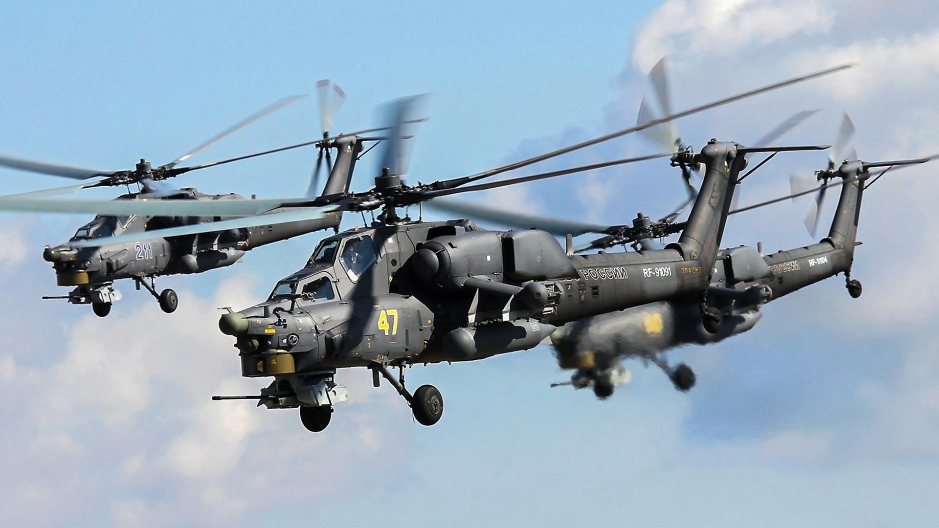 Mi-28N ruskega vojnega letalstva