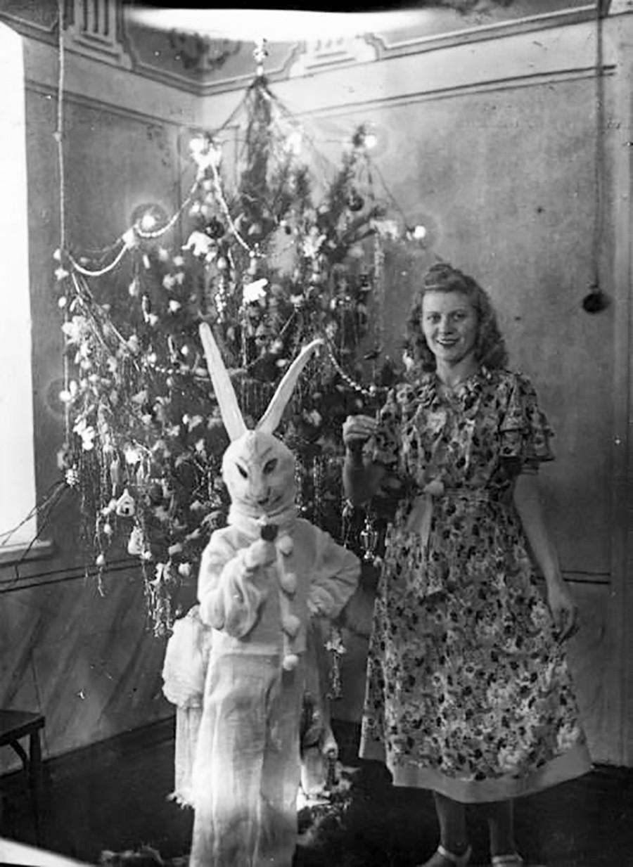 Un originale costume di Capodanno