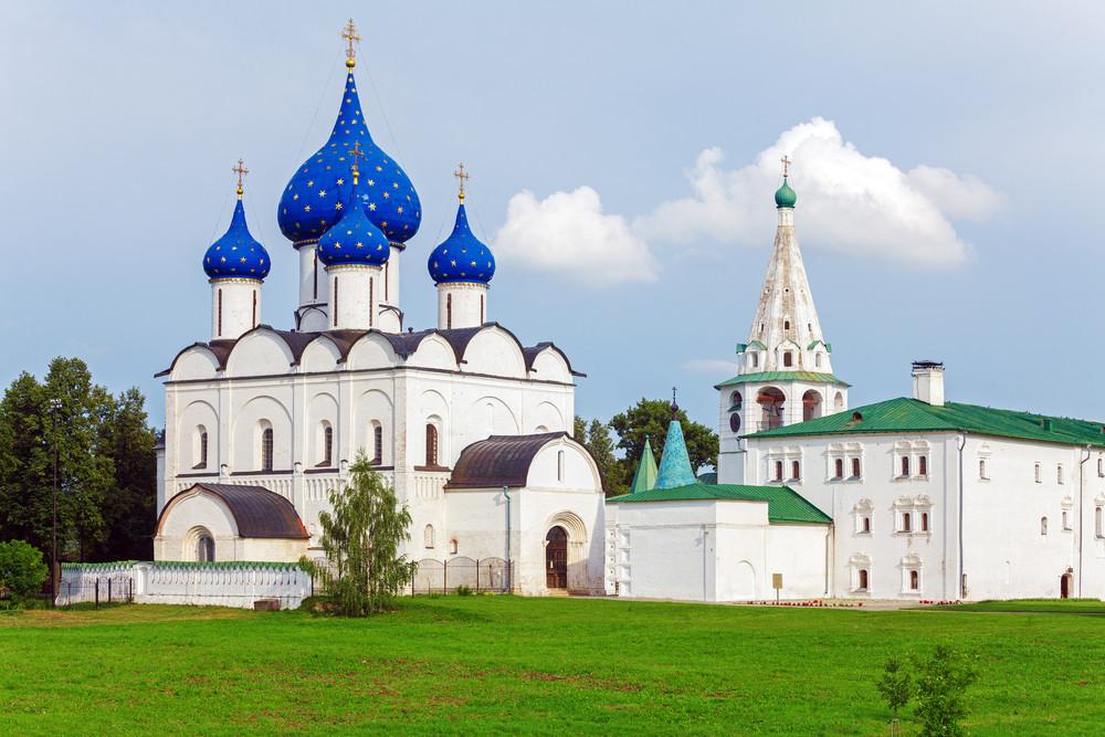 Catedral da Natividade, do século 18, em Súzdal.