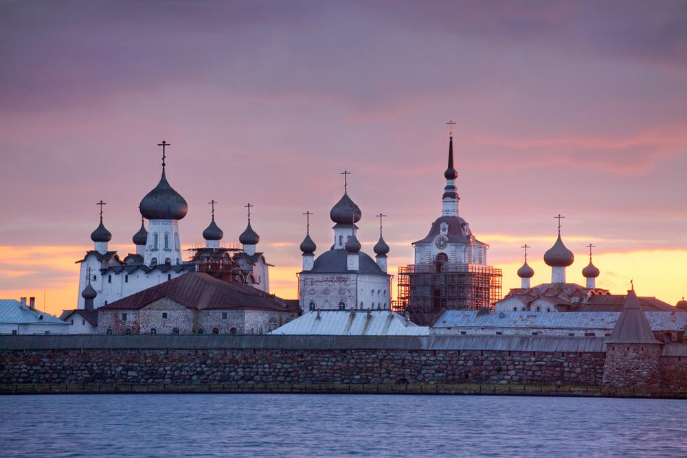 Catedral da Assunção, do século 16, no Mosteiro Solovki.