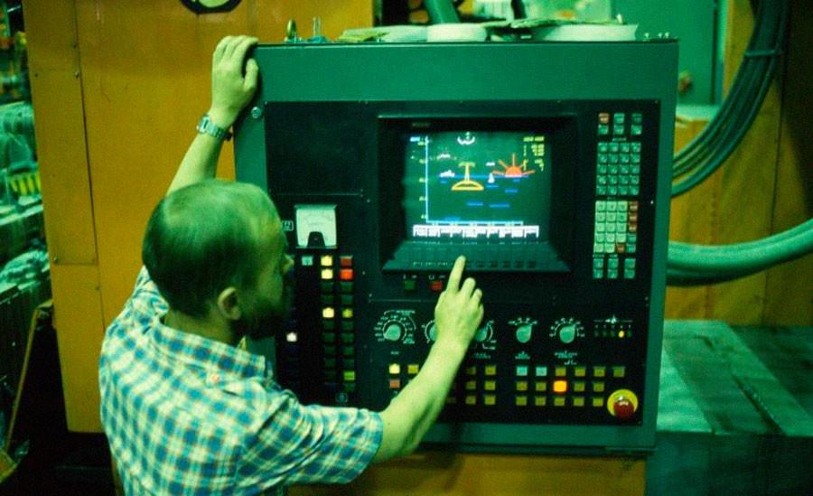 キーロフ工場。1986年