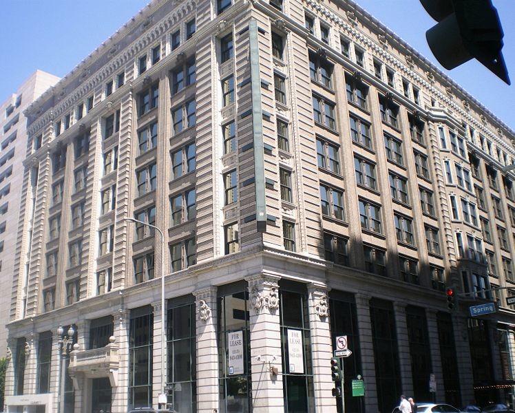 Edificio Hellman de Los Angeles, que acogió las oficinas de la Amtorg