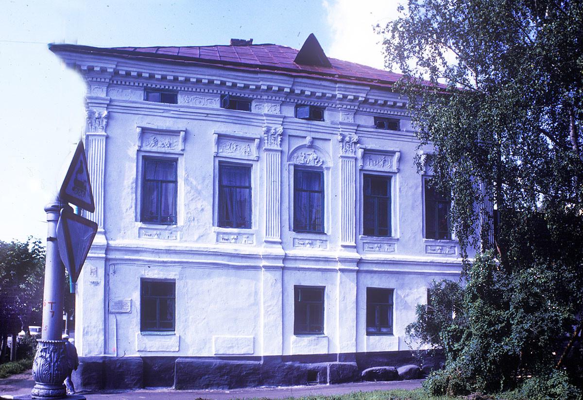 Strigalev house. Milky Hill Street 8. August 22, 1988