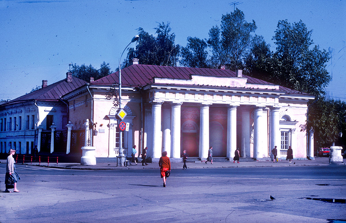 Guard Station (Hauptwacht), Susanin Square. August 22, 1988