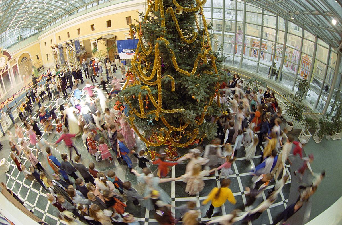Célébration de l'an 2000 dans un domaine impérial de Moscou