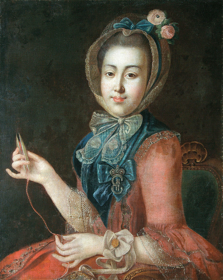 Anna Cheremeteva, de Ivan Argunov