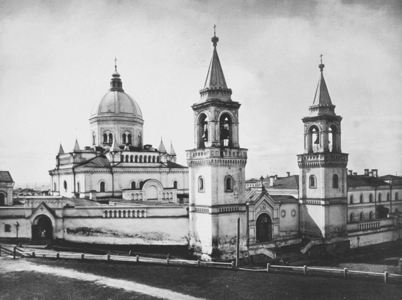 Le couvent de Saint-Jean-le-Précurseur de Moscou, où le mari de Sophia a été détenu dans un camp de concentration temporaire dans les années 1920