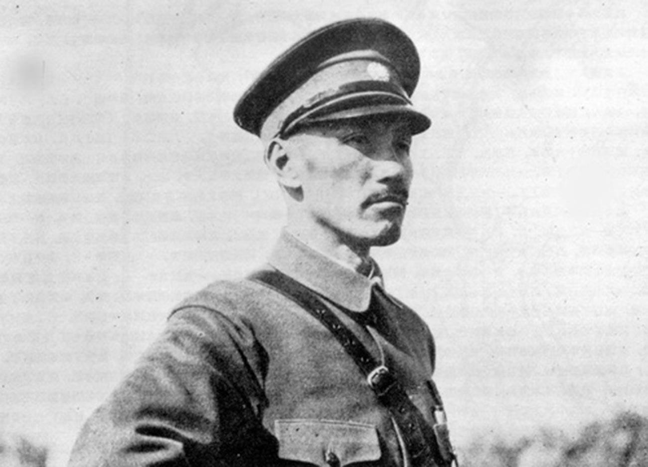 Chiang Kai-shek en 1933.