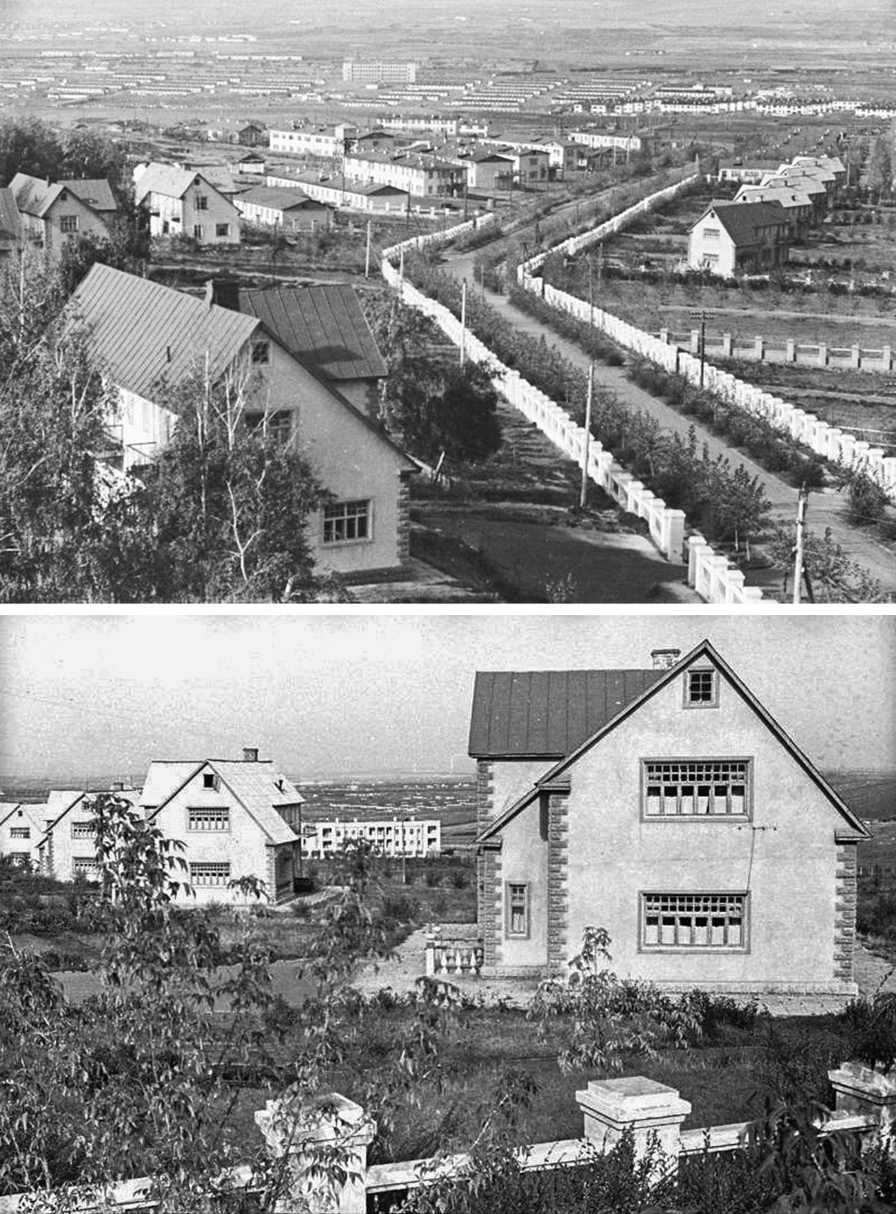 Berezki village.