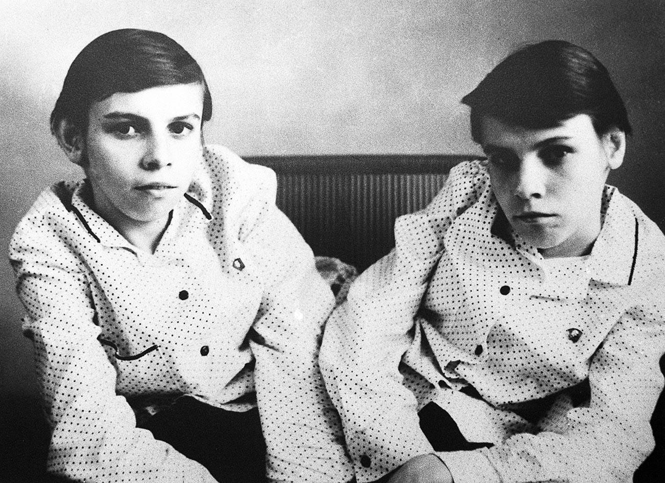 Сијамски близанци Маша и Даша Кривошљапов