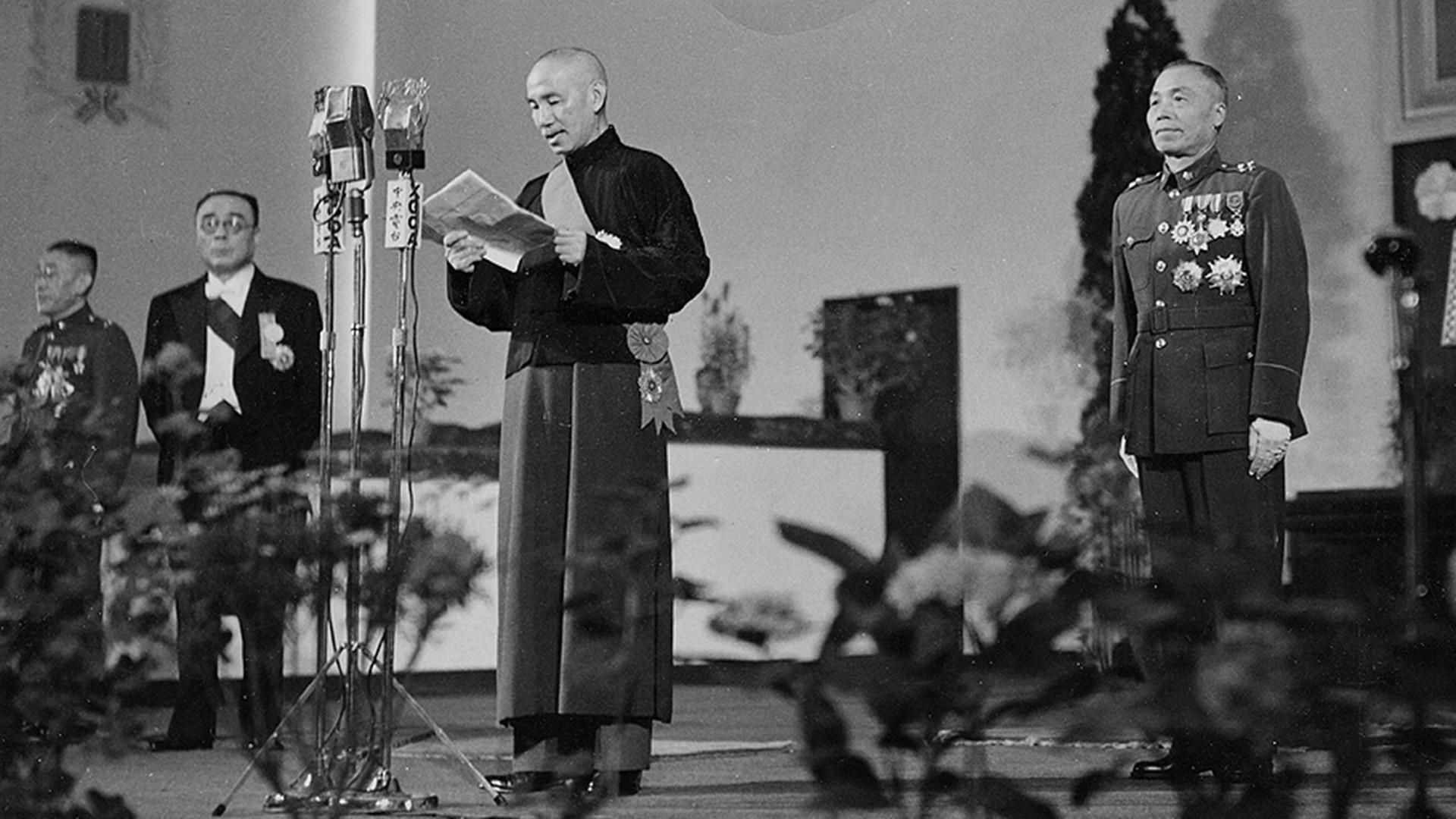 Chiang Kai-shek im Jahr 1948