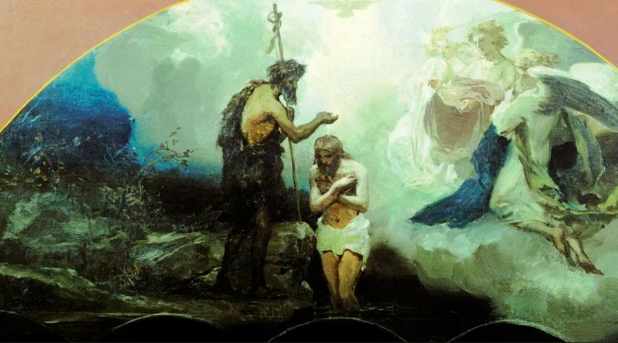 Henryk Siemiradzki. Baptême du Christ, 1876