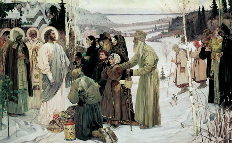 Mikhaïl Nesterov. Sainte Rus', 1905