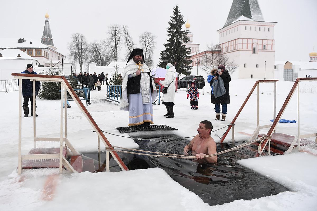 Ou directement dans des monastères comme ici, à Valdaï.
