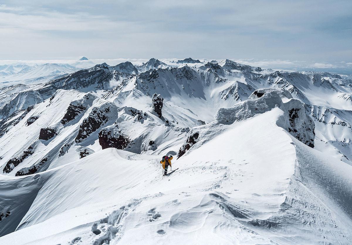 Na poti do vrha Tumrok.