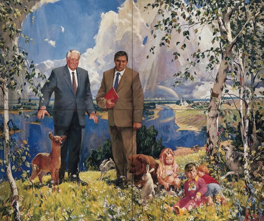Александр Виноградов, Владимир Дубосарский. Триумф. Ельцин и Лебедь, 1996