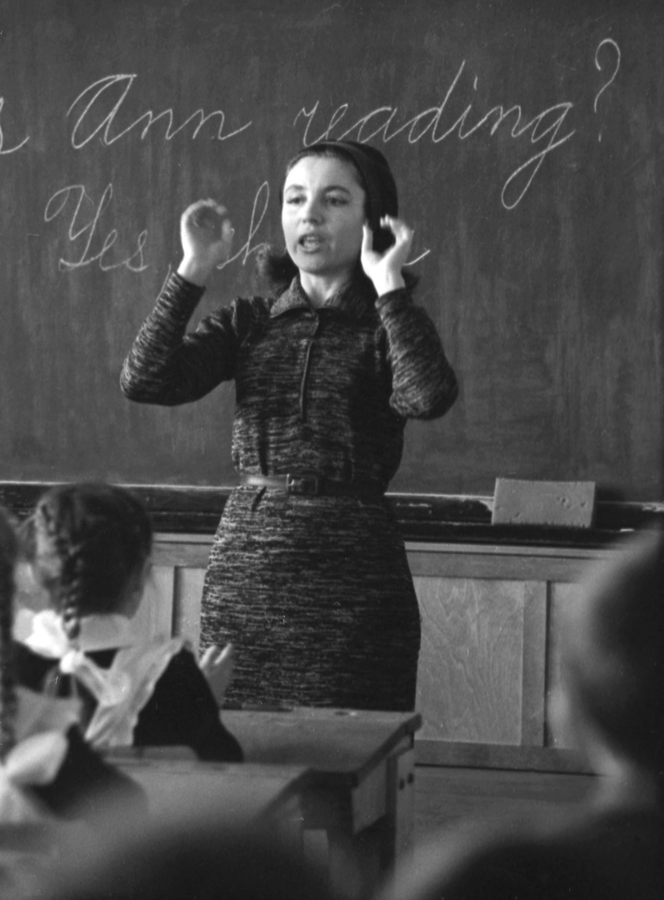 In the early 1960s, during the Thaw, language learning became a central plank of the foreign policy in the USSR.