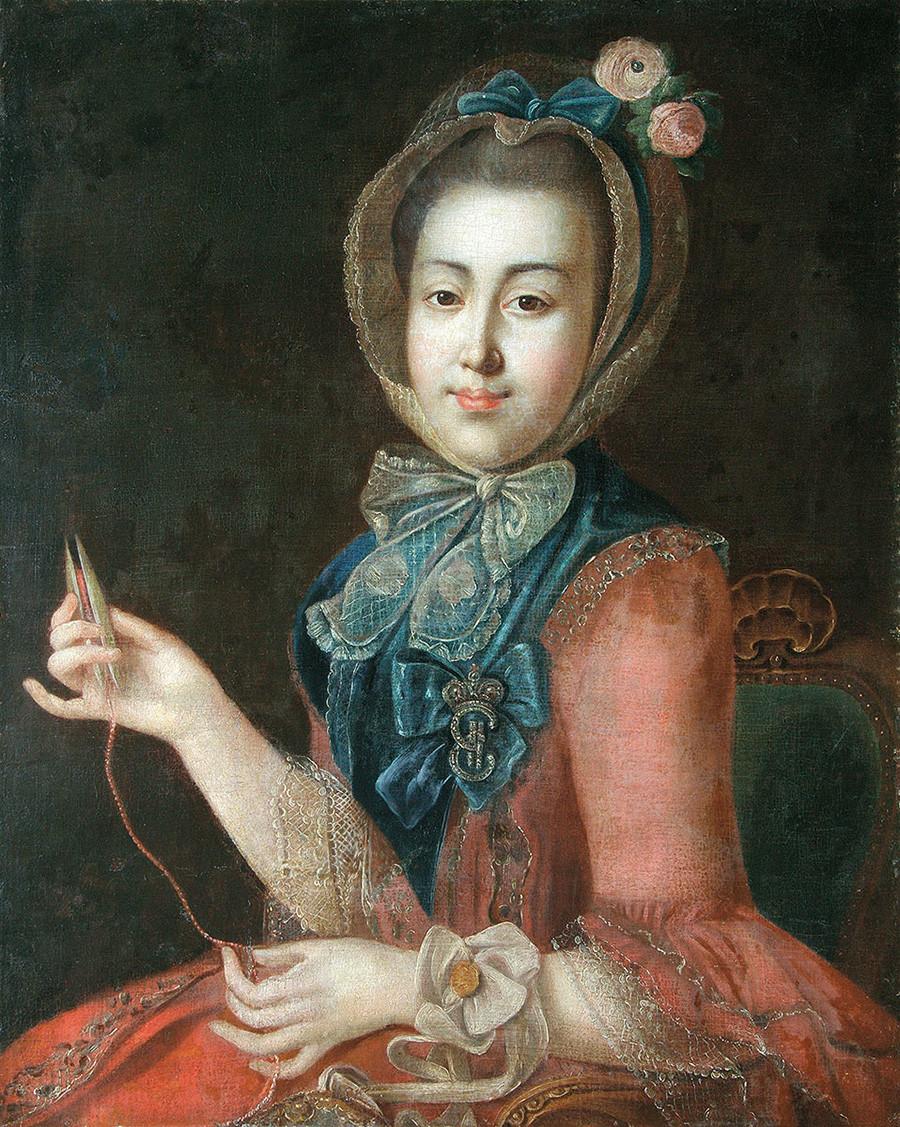 Anna Sheremetjeva ritratta da Ivan Argunov