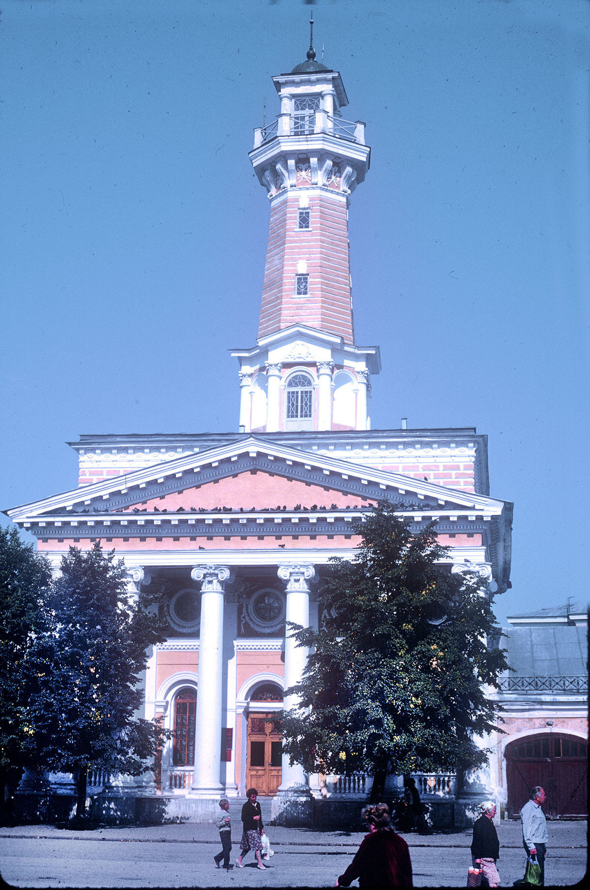 Požarni stolp in postaja, Susaninov trg. 22. avgust 1988