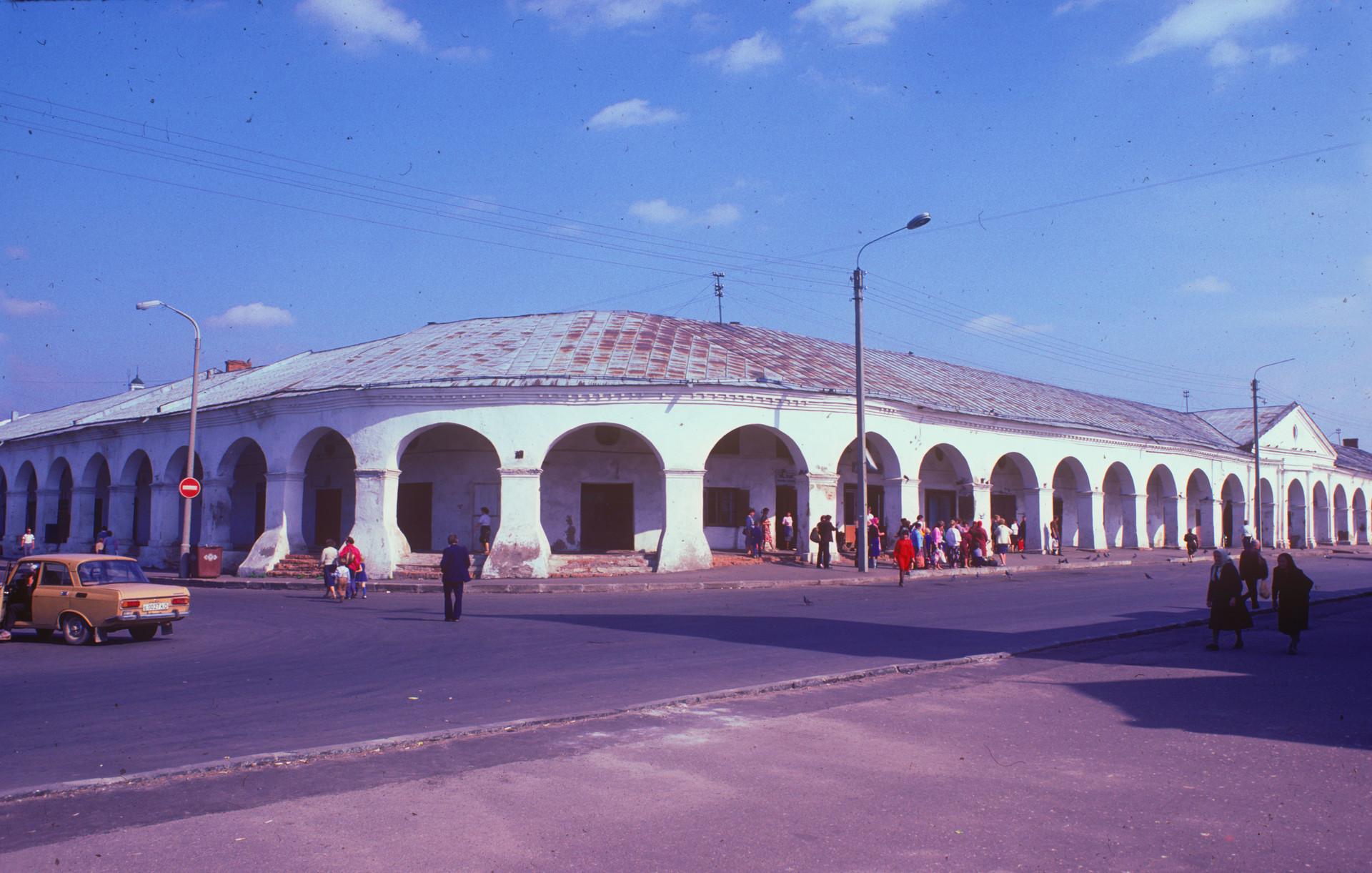 Velike trgovske arkade za trgovanje z moko. 22. avgust 1988