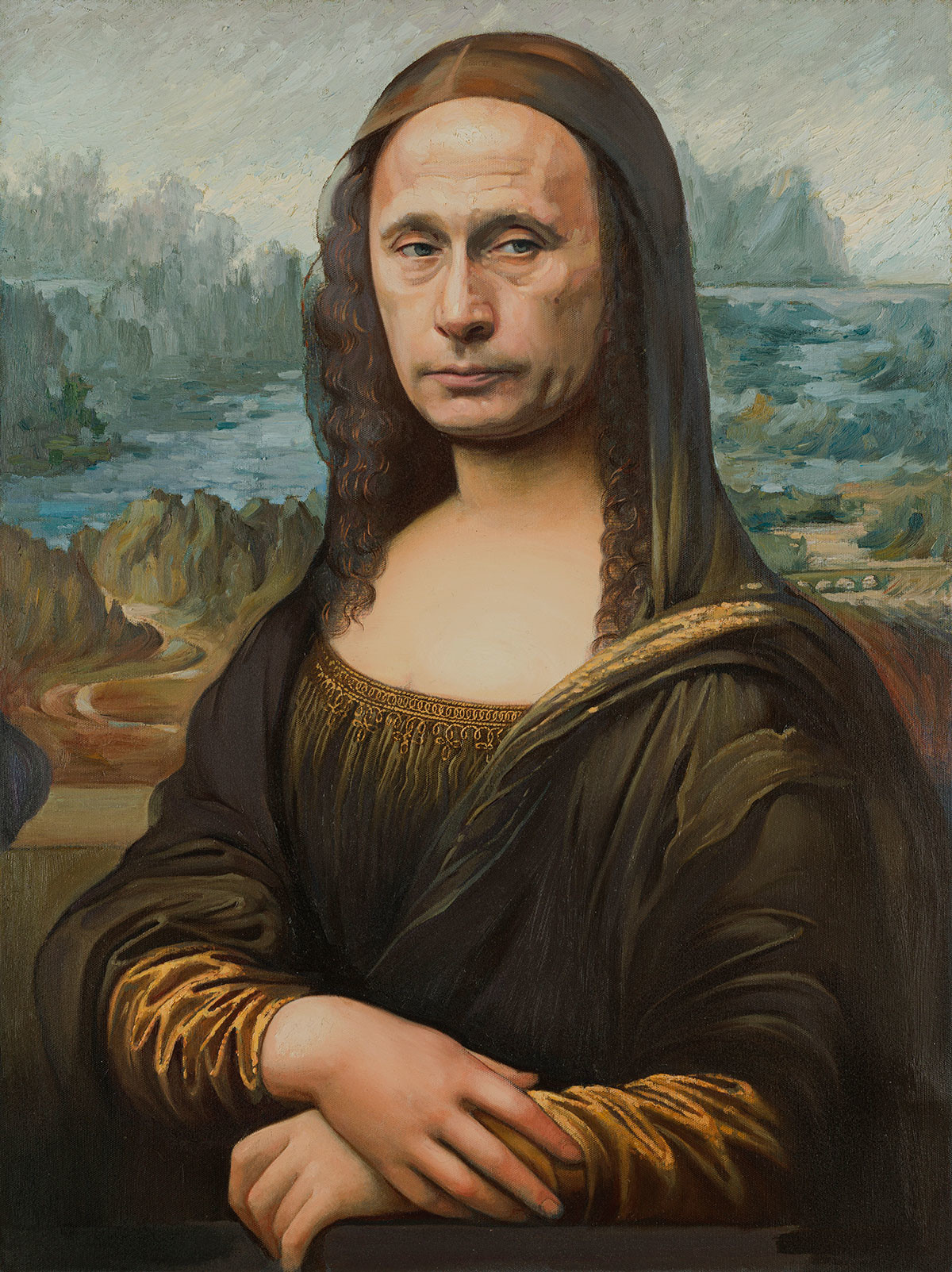 Alexander Kosolapov. Mona Lisa, 2020.
