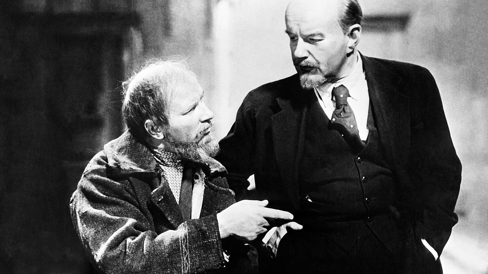 Сadre tiré du film Lénine en 1918