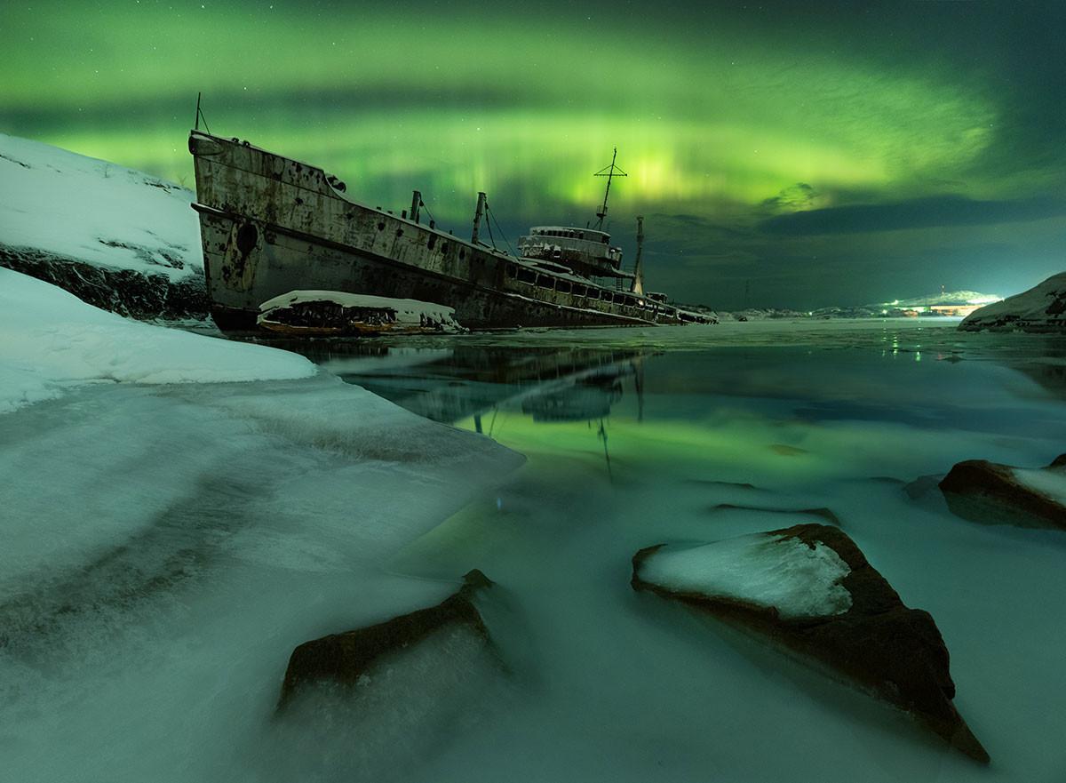 Kapal terbengkalai
