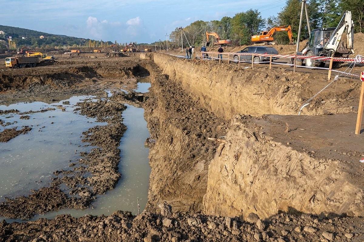 Gradnja novega prekopa za oskrbo z vodo Krimskega polotoka s strani Ruske federacije.
