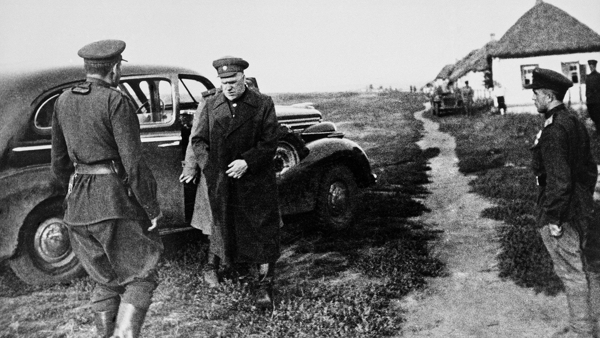 Marshal Georgy Zhiukov.
