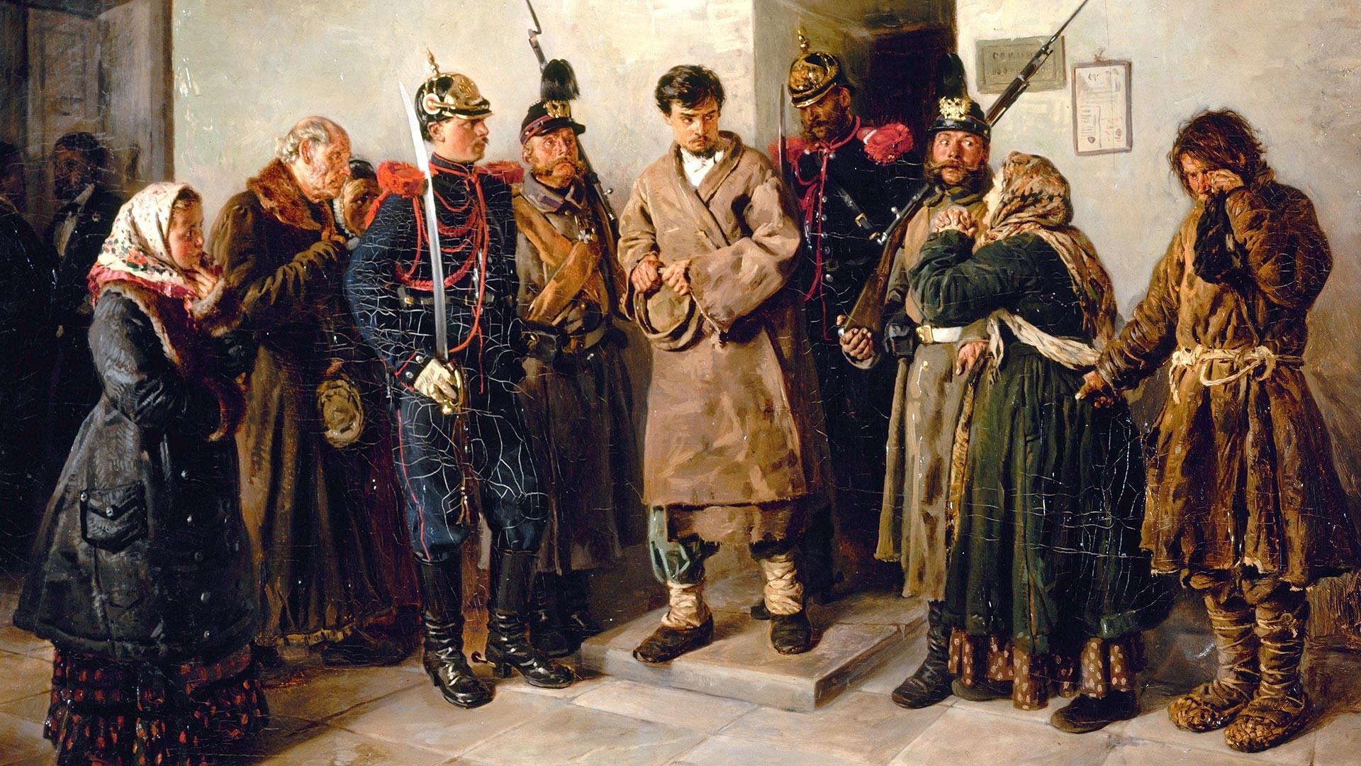 """""""Осуђеник"""", Владимир Маковски."""