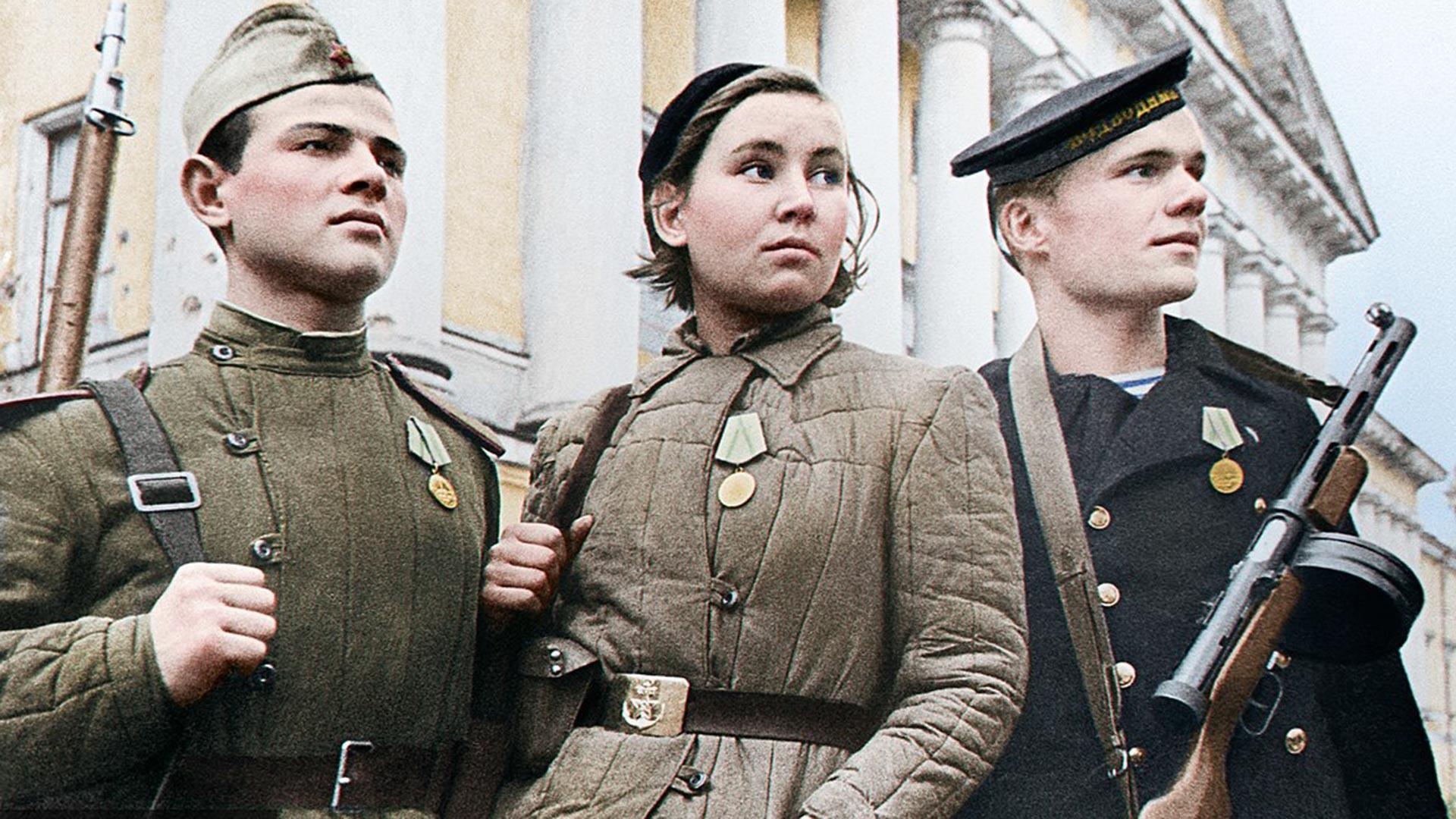 Die Verteidiger von Leningrad