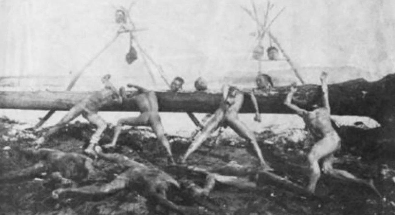 Желтугинска република. Крај 19. века.