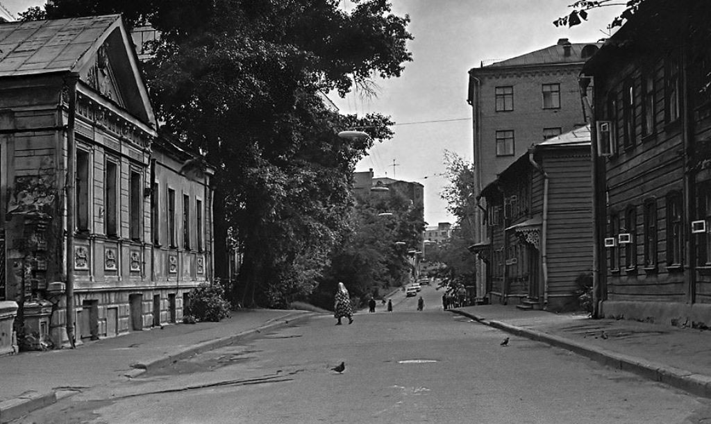 L'une des ruelles démolies, 1972-1978