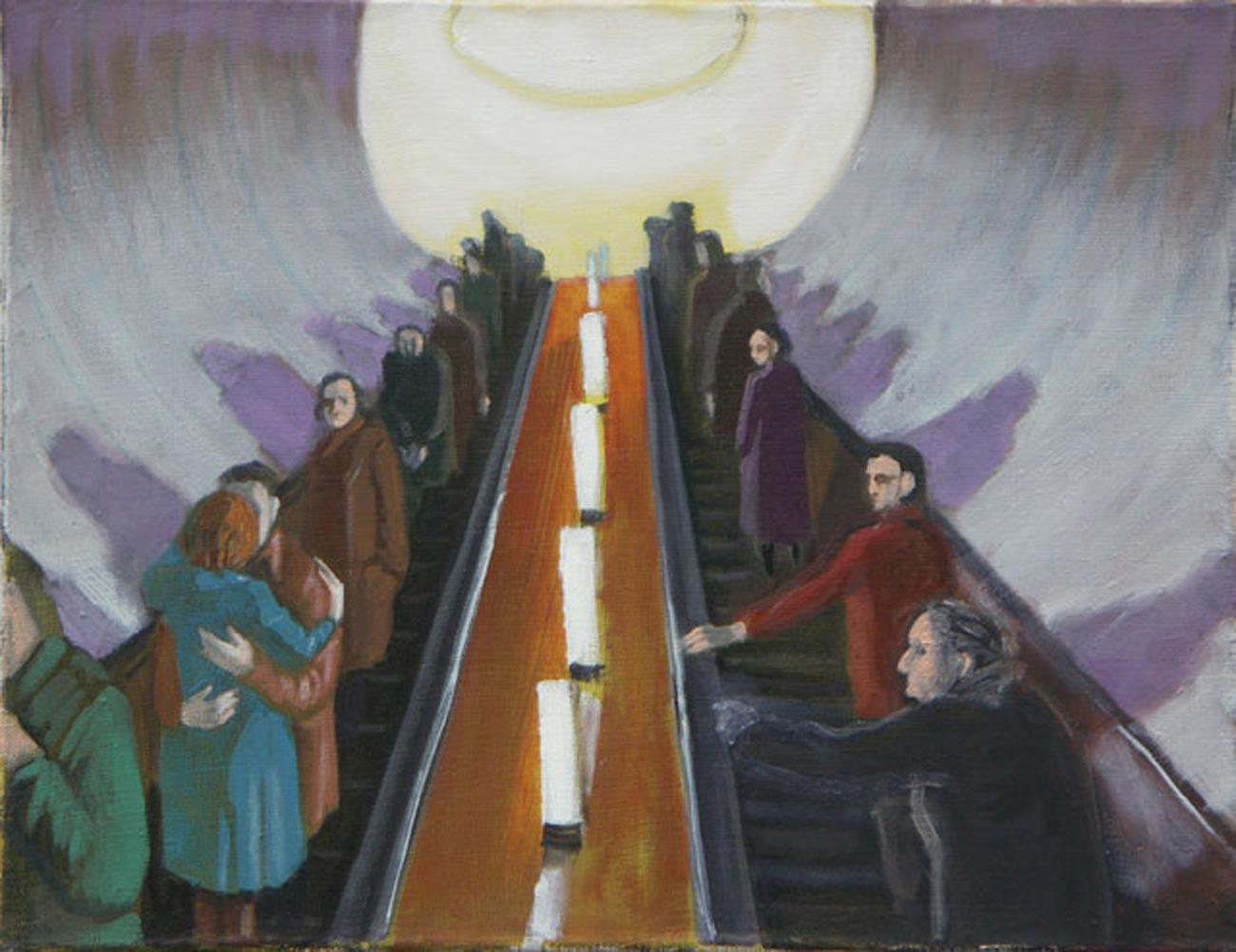 アリサ・ザルジェフスカヤ、「地下鉄」、2005–2008年