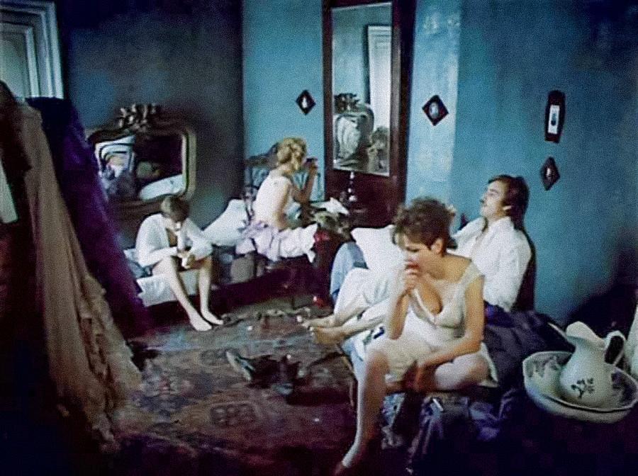 映画「クロイツェル・ソナタ」(1987)からのシーン