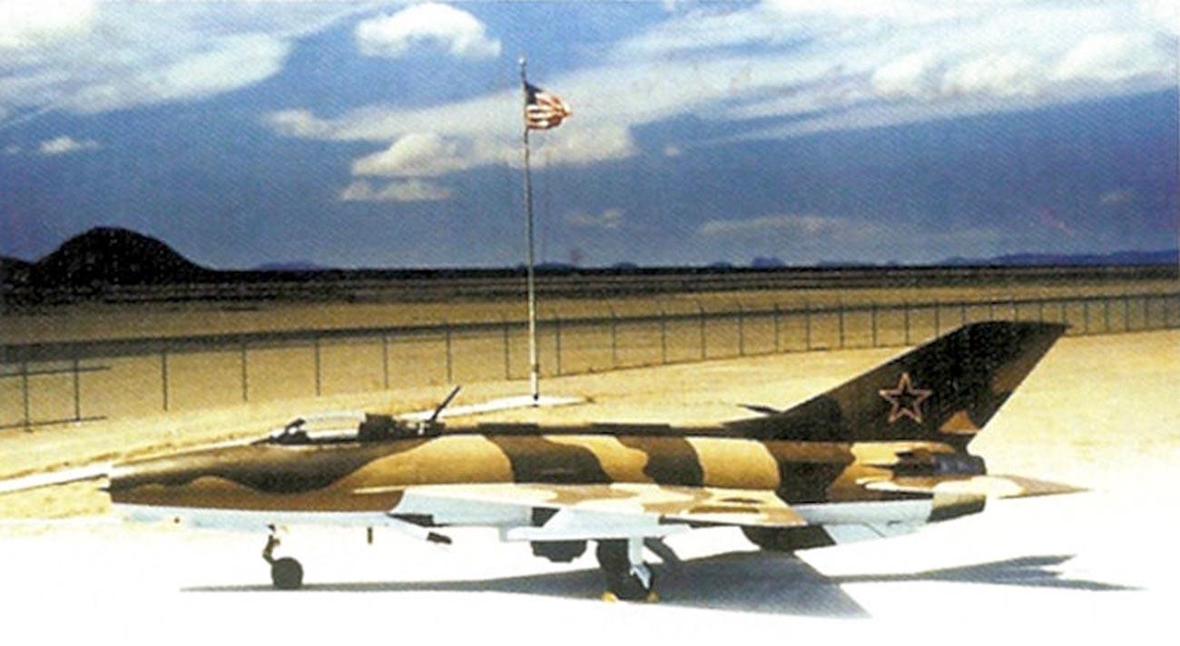 МиГ-21Ф-13, 4477 ескадрила за тестирање и процена, полигон Тонопа