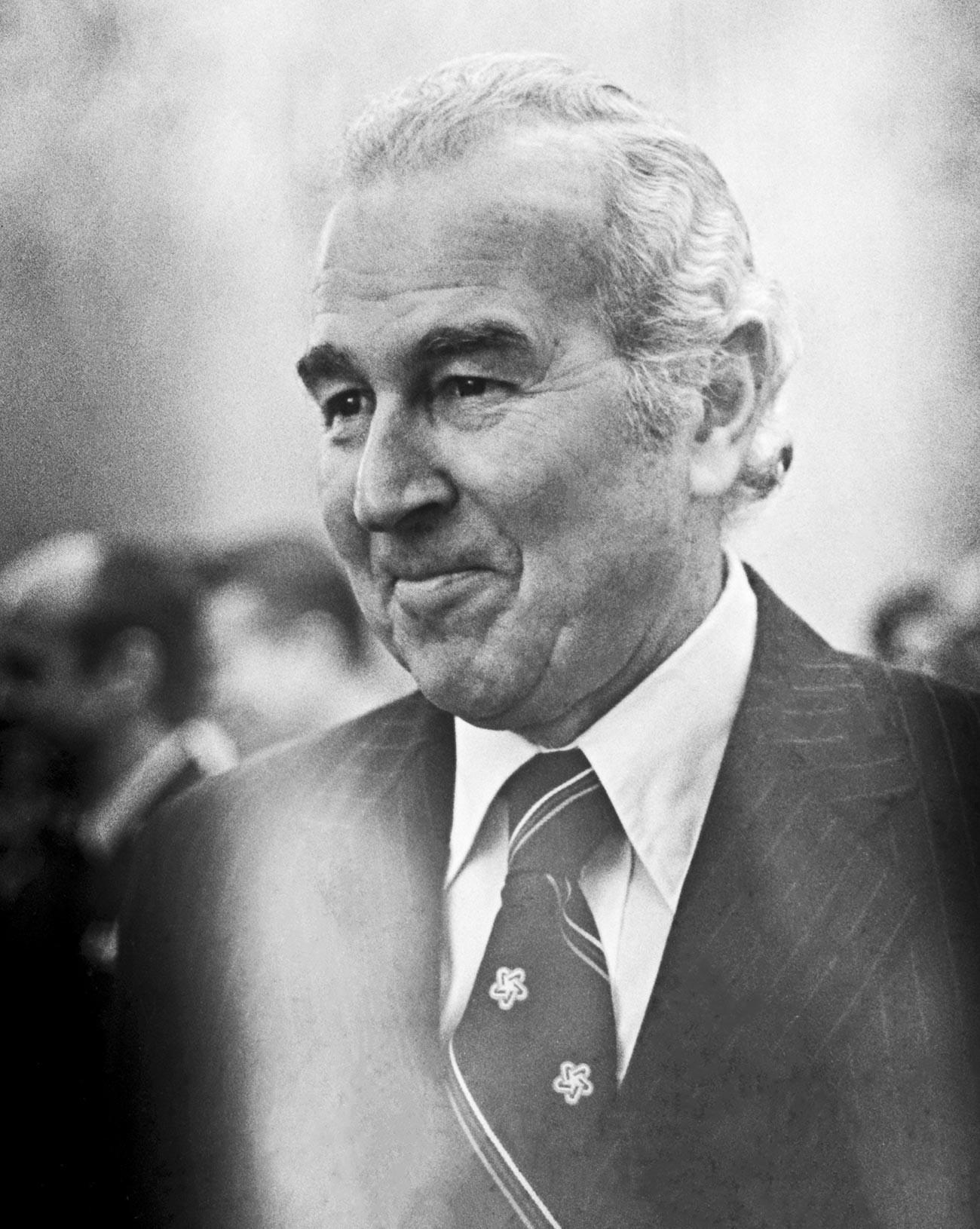 Malcolm Toon, el elegido por Jimmy Carter para el puesto de embajador de EE UU en la Unión Soviética