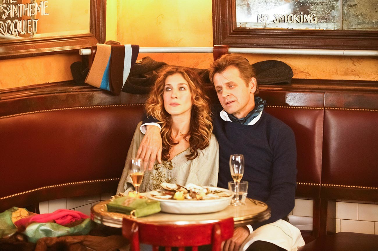 Sarah Jessica Parker and Mikhail Baryshnikov in 'Sex And The City.'