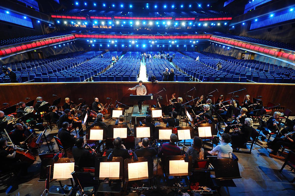 Concert dans la salle du Palais après sa rénovation